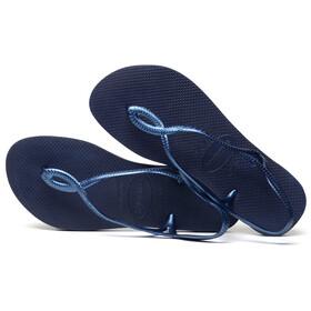 havaianas Luna Sandals Women Navy Blue